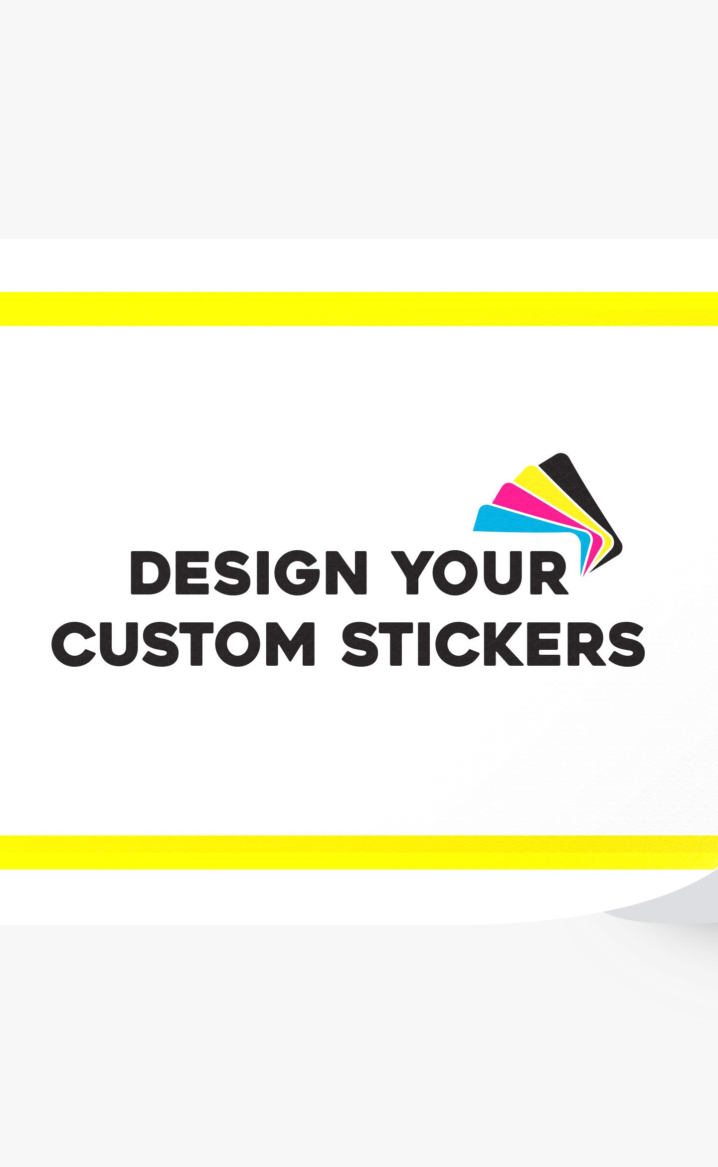 6x3 Custom Rectangle Stickers - Landscape