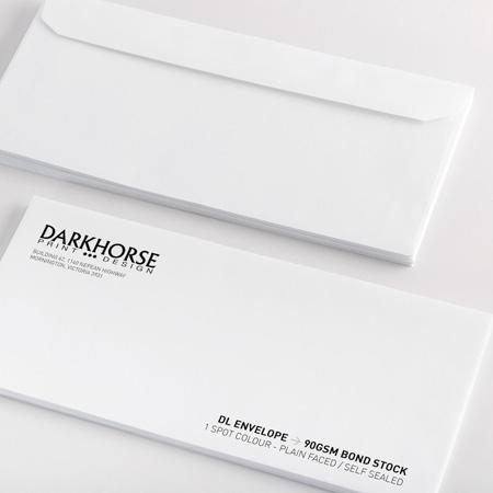 1-Color #10 (4.125x9.5) Envelopes