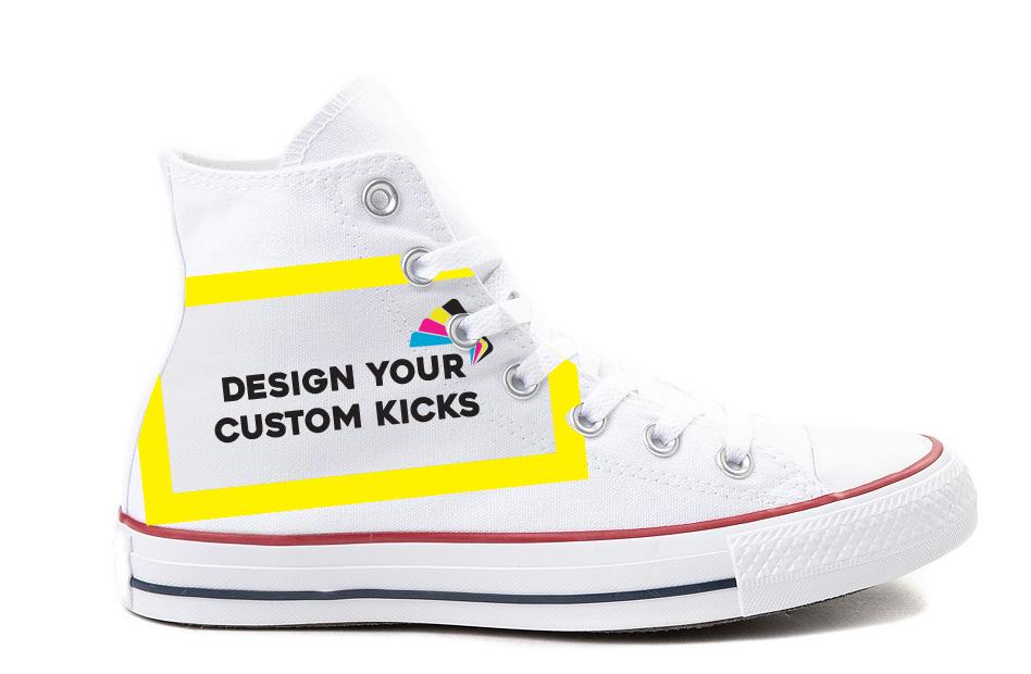 Custom Canvas High Tops Unisex