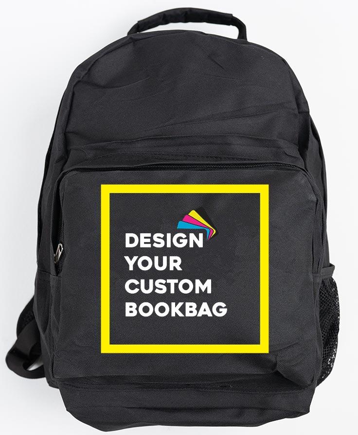 Custom Commuter Unisex Backpack - Black