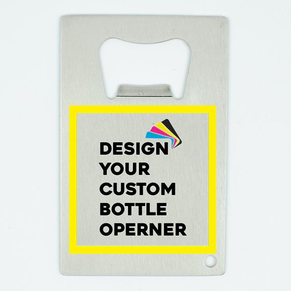 Custom Credit Card Size Bottle Opener
