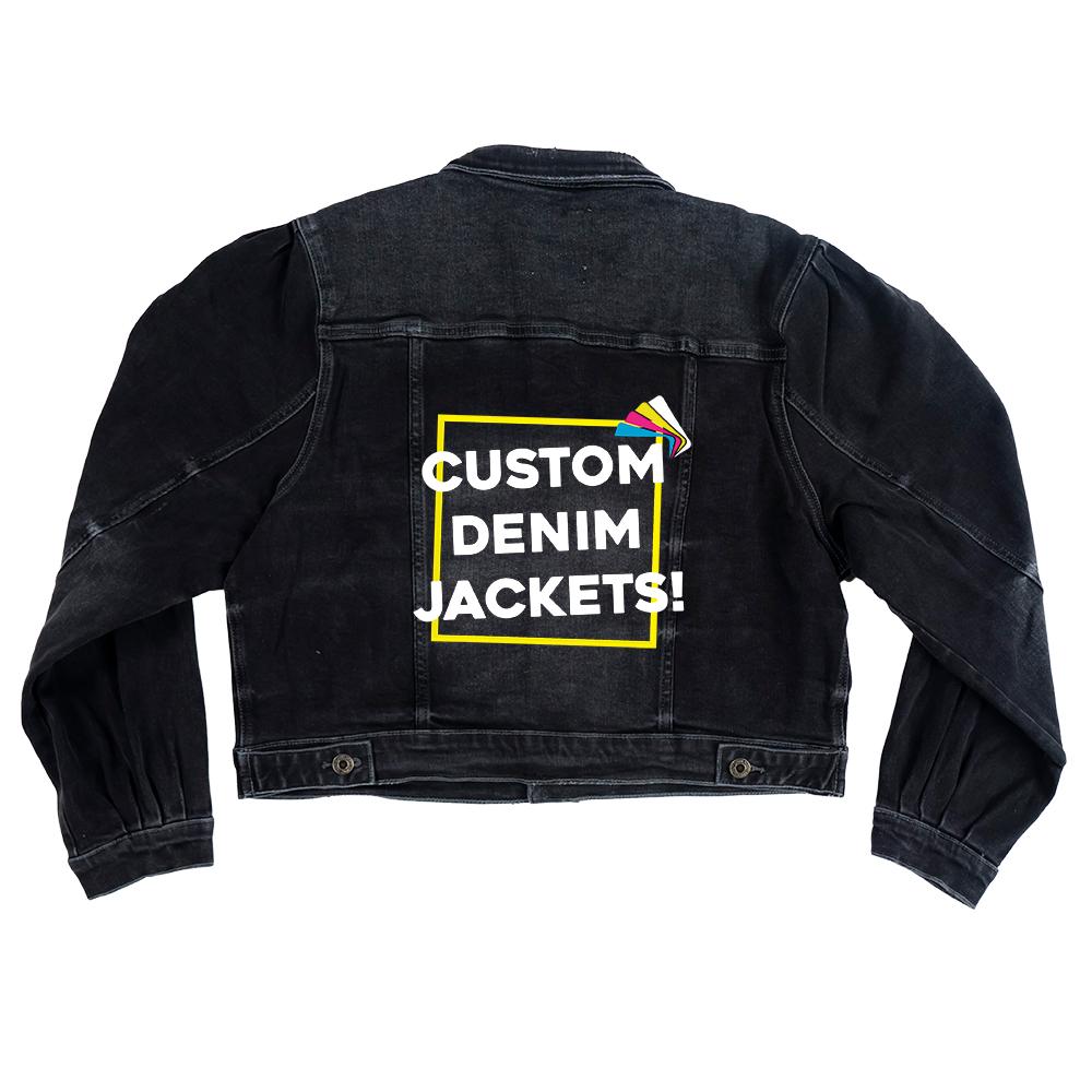 Custom Women's Balloon Sleeve Jacket